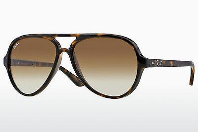 Solbriller Ray-Ban CATS 5000 (RB4125 710/51) - Brun, Havanna