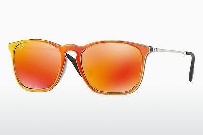Solbriller Ray-Ban CHRIS (RB4187 63206Q) - Grå, Orange