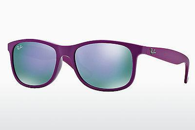 Solbriller Ray-Ban ANDY (RB4202 60714V) - Purpur