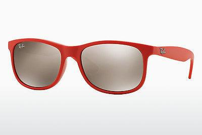 Solbriller Ray-Ban ANDY (RB4202 61555A) - Rød