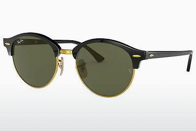 Solbriller Ray-Ban Clubround (RB4246 901) - Sort