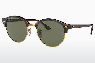 Solbriller Ray-Ban CLUBROUND (RB4246 990/58) - Brun, Havanna