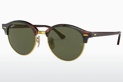 Solbriller Ray-Ban Clubround (RB4246 990) - Brun, Havanna