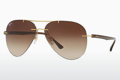 Solbriller Ray-Ban RB8058 157/13 - Guld