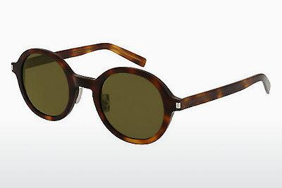 Solbriller Saint Laurent SL 161 SLIM 002 - Brun, Havanna