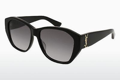 Solbriller Saint Laurent SL M8 001 - Sort