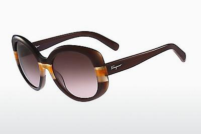 Solbriller Salvatore Ferragamo SF793S 230 - Brun, Orange