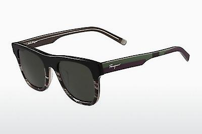 Solbriller Salvatore Ferragamo SF824S 004 - Sort
