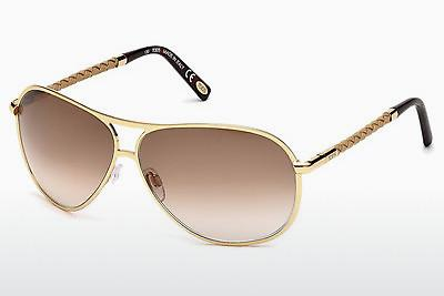 Solbriller Tod's TO0008 28F - Guld