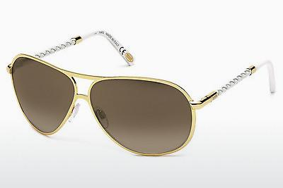 Solbriller Tod's TO0008 28G - Guld