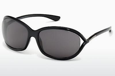 Solbriller Tom Ford Jennifer (FT0008 199) - Sort