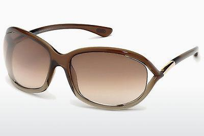 Solbriller Tom Ford Jennifer (FT0008 38F) - Bronze