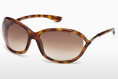 Solbriller Tom Ford Jennifer (FT0008 52F) - Brun, Dark, Havana