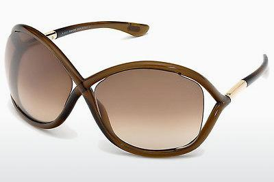 Solbriller Tom Ford Whitney (FT0009 692) - Brun