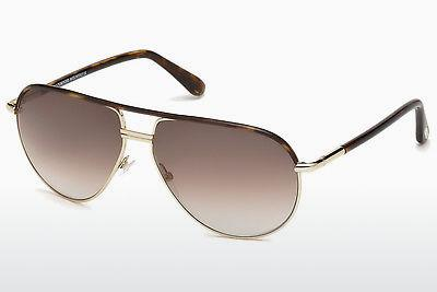 Solbriller Tom Ford Cole (FT0285 52K) - Brun, Dark, Havana