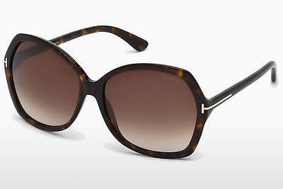 Solbriller Tom Ford Carola (FT0328 52F) - Brun, Dark, Havana