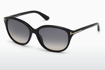 Solbriller Tom Ford Karmen (FT0329 01B) - Sort, Shiny