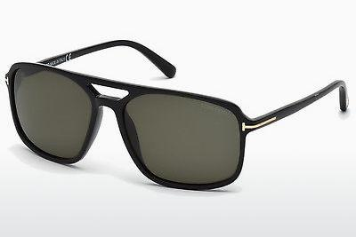 Solbriller Tom Ford Terry (FT0332 01B) - Sort, Shiny