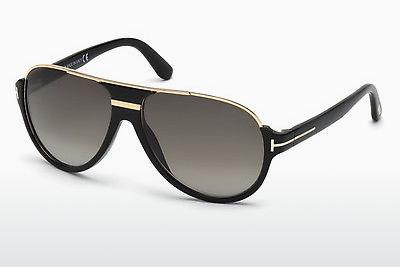 Solbriller Tom Ford Dimitry (FT0334 01P) - Sort, Shiny