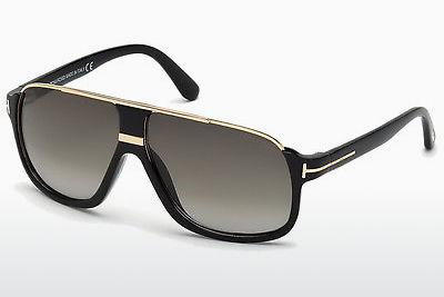 Solbriller Tom Ford Eliott (FT0335 01P) - Sort, Shiny