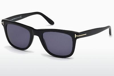 Solbriller Tom Ford Leo (FT0336 01V) - Sort, Shiny