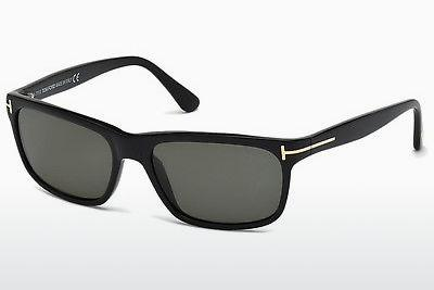 Solbriller Tom Ford Hugh (FT0337 01N) - Sort, Shiny