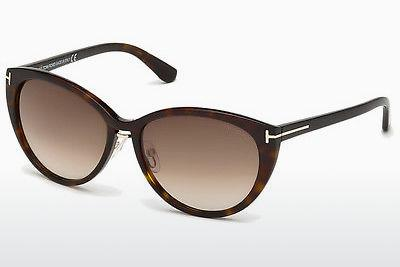 Solbriller Tom Ford Gina (FT0345 52F) - Brun, Dark, Havana