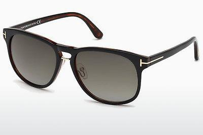 Solbriller Tom Ford Franklin (FT0346 01V) - Sort, Shiny