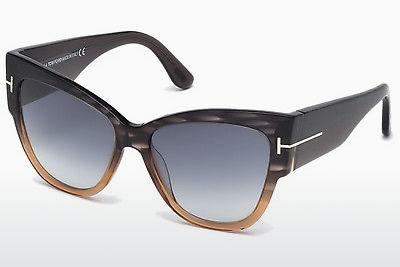 Solbriller Tom Ford Anoushka (FT0371 20B) - Grå