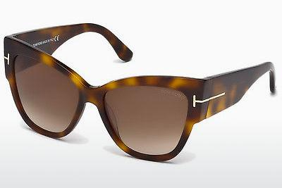 Solbriller Tom Ford Anoushka (FT0371 53F) - Havanna, Yellow, Blond, Brown