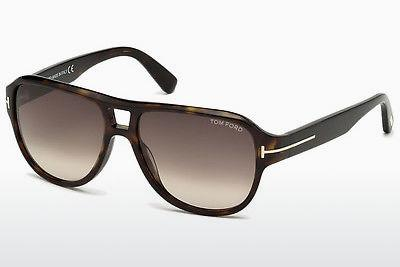 Solbriller Tom Ford Dylan (FT0446 52K) - Brun, Dark, Havana