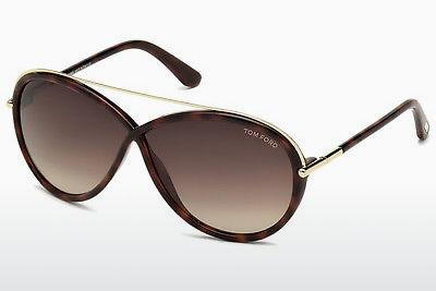 Solbriller Tom Ford Tamara (FT0454 52K) - Brun, Dark, Havana