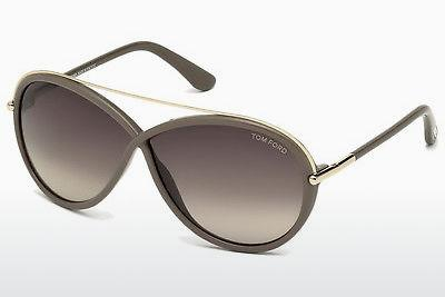 Solbriller Tom Ford Tamara (FT0454 59K) - Horn, Beige, Brown