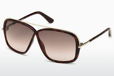 Solbriller Tom Ford Brenda (FT0455 52F) - Brun, Dark, Havana