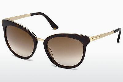 Solbriller Tom Ford Emma (FT0461 52G) - Brun, Dark, Havana