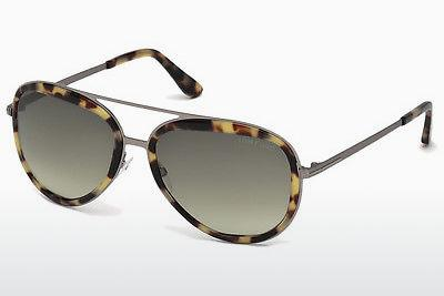 Solbriller Tom Ford Andy (FT0468 53P) - Havanna, Yellow, Blond