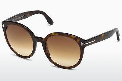 Solbriller Tom Ford Philippa (FT0503 52F) - Brun, Dark, Havana