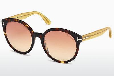 Solbriller Tom Ford Philippa (FT0503 52Z) - Brun, Dark, Havana