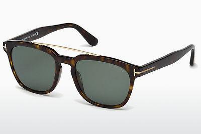 Solbriller Tom Ford Holt (FT0516 52R) - Brun, Dark, Havana