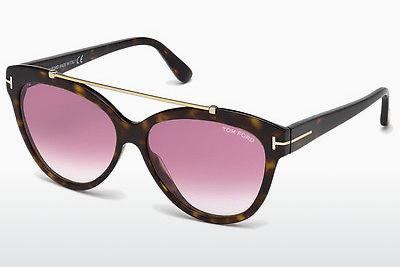 Solbriller Tom Ford Livia (FT0518 52Z) - Brun, Dark, Havana