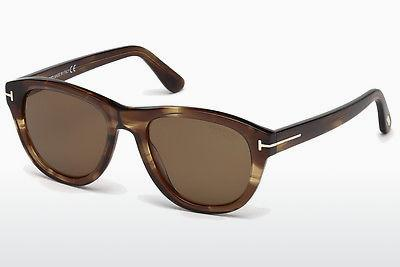 Solbriller Tom Ford Benedict (FT0520 50H) - Brun, Dark