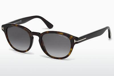 Solbriller Tom Ford Von Bulow (FT0521 52B) - Brun, Dark, Havana