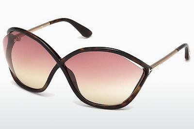 Solbriller Tom Ford Bella (FT0529 52Z) - Brun, Dark, Havana