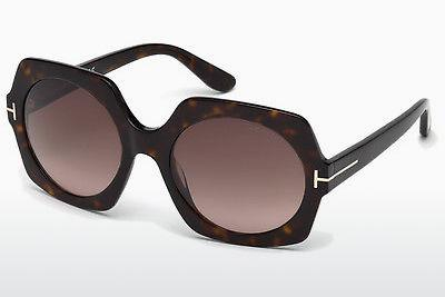 Solbriller Tom Ford Sofia (FT0535 52T) - Brun, Dark, Havana