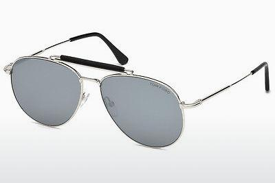 Solbriller Tom Ford Sean (FT0536 16C) - Sølv, Shiny, Grey