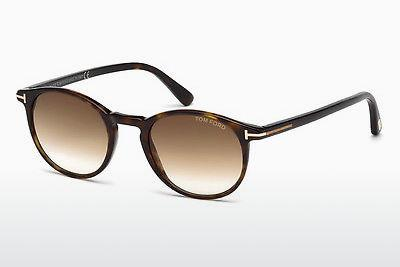 Solbriller Tom Ford Andrea (FT0539 52F) - Brun, Dark, Havana
