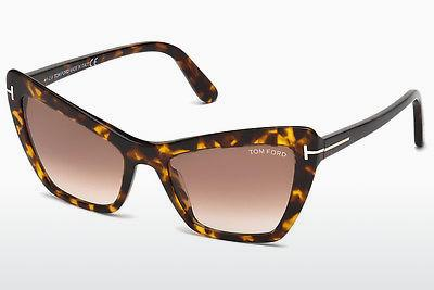 Solbriller Tom Ford Valesca (FT0555 52F) - Brun, Dark, Havana