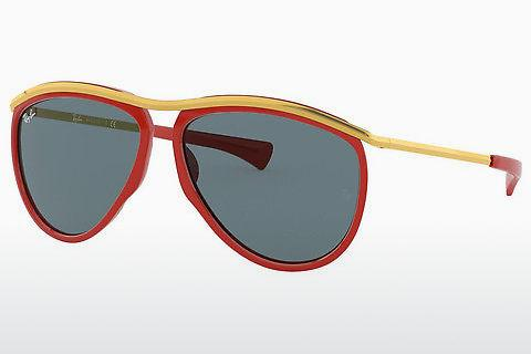 Solbriller Ray-Ban OLYMPIAN AVIATOR (RB2219 1243R5)