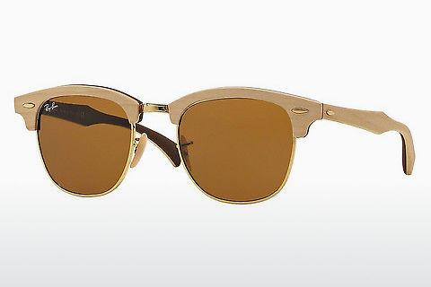 Solbriller Ray-Ban Clubmaster Wood (RB3016M 1179)