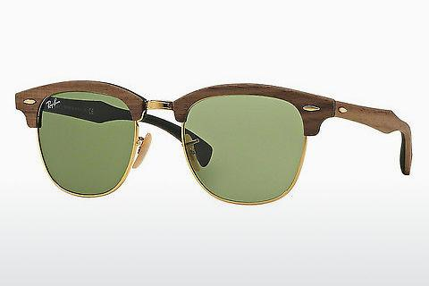 Solbriller Ray-Ban Clubmaster Wood (RB3016M 11824E)